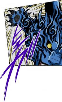 Grande Ataque da Garra do Gato (Yugito - Mangá)