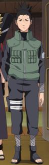 Shikamaru en la segunda parte