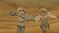 Taizō e Asura viajando