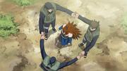 Jutsu Formación Trueno Volador Anime