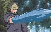 Estilo Takigakure Espada de Agua Cortante