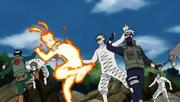 Naruto dá suporte à Terceira Divisão