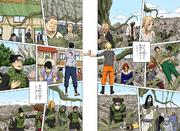 Naruto y Sasuke disipan el Tsukuyomi Infinito Manga