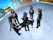 ANBU encontra Hayate morto