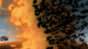 Amaterasu vs Ateş Topu