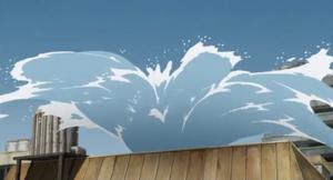 Bala de Elemento Agua Orca Anime