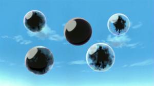 Burbujas de tinta