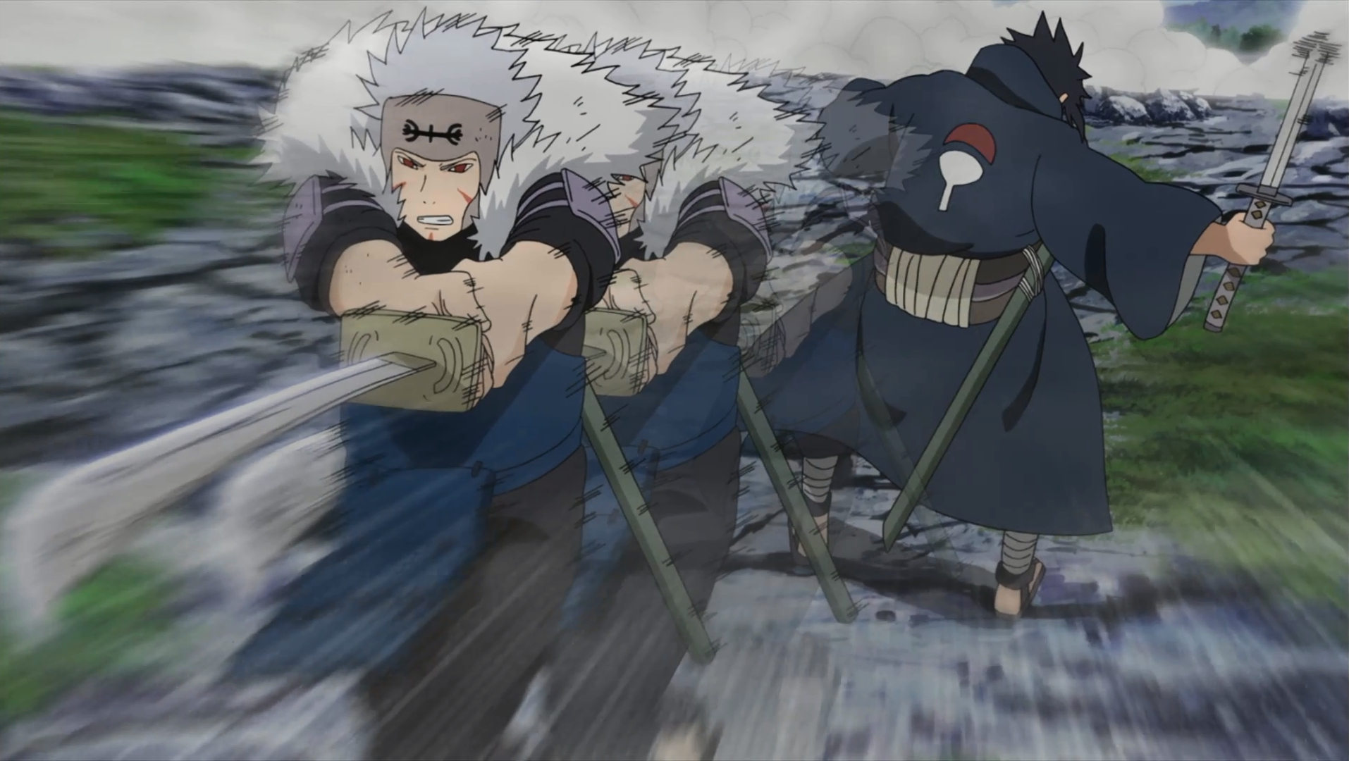 Tobirama thunder slash