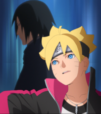 Boruto's Admiration anime