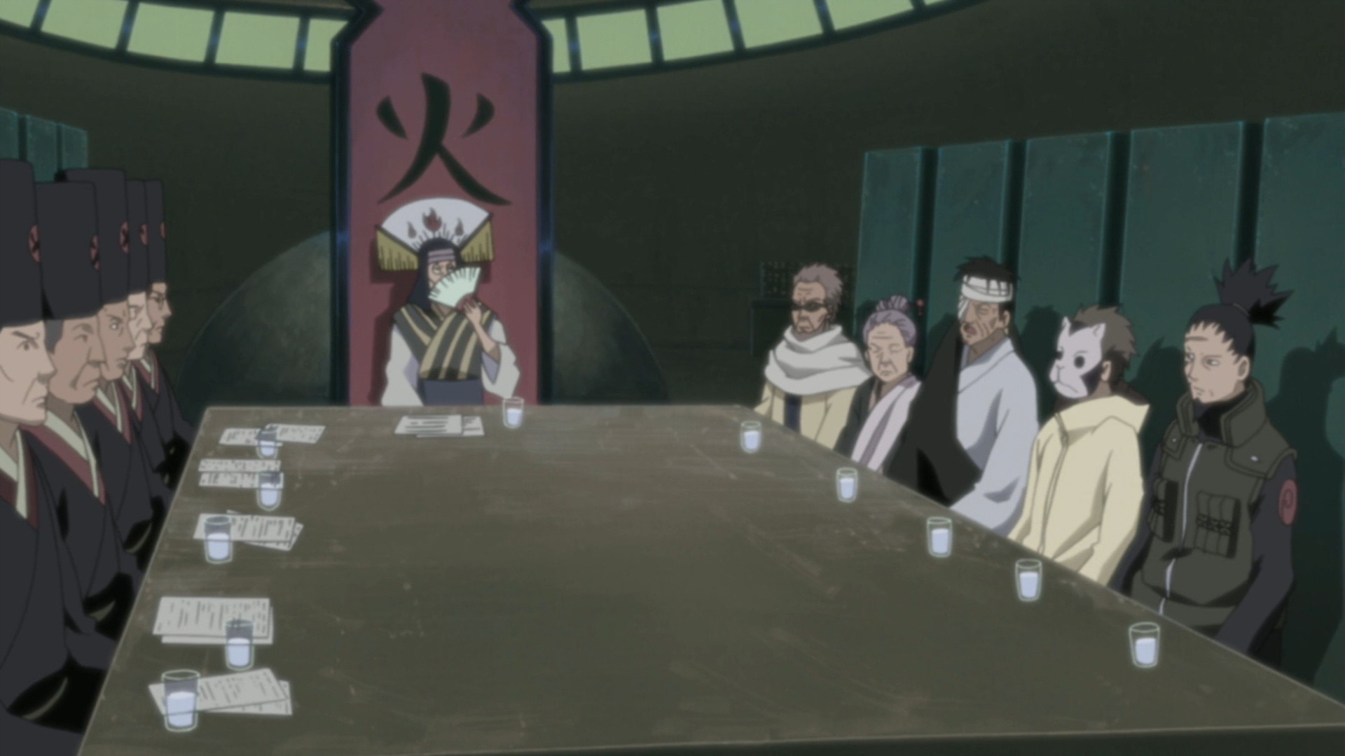 Shikaku Nara Narutopedia Fandom Powered By Wikia Smart Fuse Box Wiki Five Kage Summit