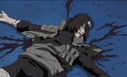 Hayate es asesinado por Baki