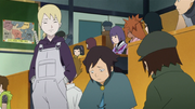Inojin standing for Boruto