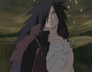 Madara with Hashirama's face