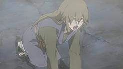 Yukimaru cansado por ter utilizado muito seu poder
