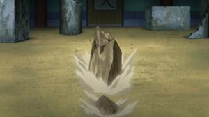 Elemento Tierra Camino Rocoso anime