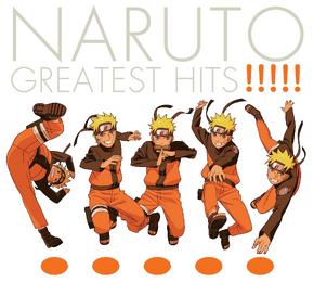 Naruto Greatest Hits Portada