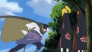 Sasuke parte para cima de Deidara