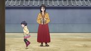 Hanabi brinca com Himawari