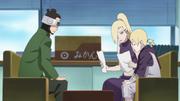 Ino e Inojin se encontram com Shino