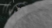 Konohamaru atacando a Temari