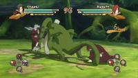Nagato atacando com Kuchiyose