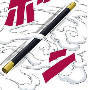 Transformación Bastón de Diamantina Manga