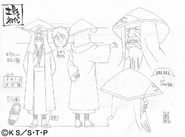 Arte Pierrot - Primeiro Tsuchikage