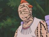 Jirōbō en el Nivel Uno de su Transformación de Sello Maldito Anime