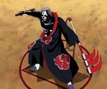 Jutsu de Maldición Controlando la Sangre Poseída de la Muerte Anime