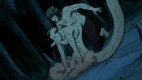 Kabuto using Jirōbō's powers