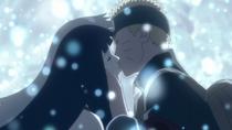 Naruto and Hinata kiss