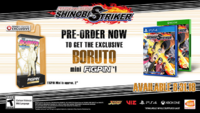 Naruto to Boruto Shinobi Striker Reserva Boruto mini Figpin scan