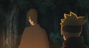 Sasuke conversa com Boruto