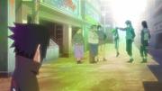 Sasuke presencia bronca em Naruto