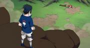 Sasuke salva a Karin