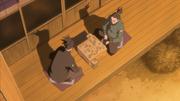 Shikamaru jogando Shōgi com seu pai, Shikaku