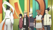 Team 10, Boruto and Sarada meet Tagorihime