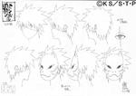 Diseño Kakashi máscara ANBU por Pierrot