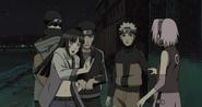 Hinata ameaça Sakura