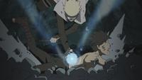 Naruto defeats Menma