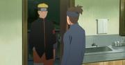 Naruto visita a Iruka