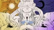 Naruto y Sasuke utilizando el Yin-Yang para sellar a Kaguya