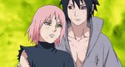 Sasuke le da las gracias a Sakura