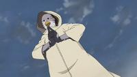 ANBU con Mascara de Pájaro