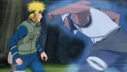 A attaque Minato