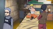 Heki fazendo curativos em Naruto