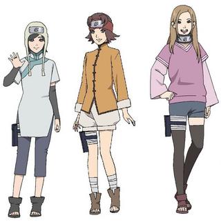Naruto's fan girls