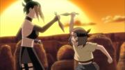 Pakura treinando com Maki