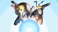 Rasengan Pai e Filho (Minato e Naruto-Filme)