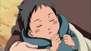 Sasuke quando era bebê